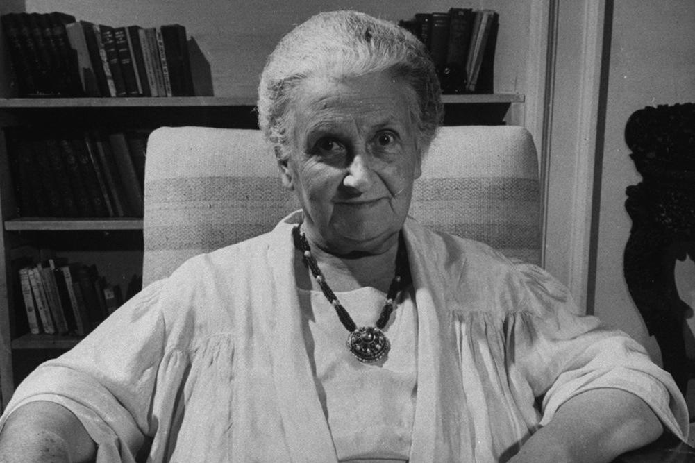 Maria Montessori, a pioneer in the education of children