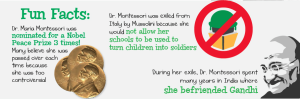 Fun facts about Maria Montessori